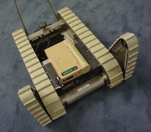 UltraCell system powering a military robot